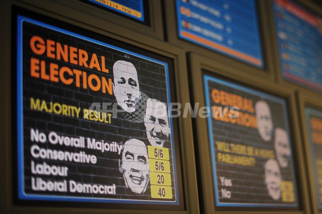英総選挙6日に迫る、近年まれな接戦か