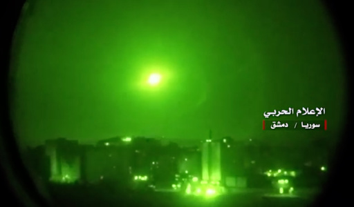 シリア、イスラエル軍のミサイル迎撃 兵士3人負傷 国営通信