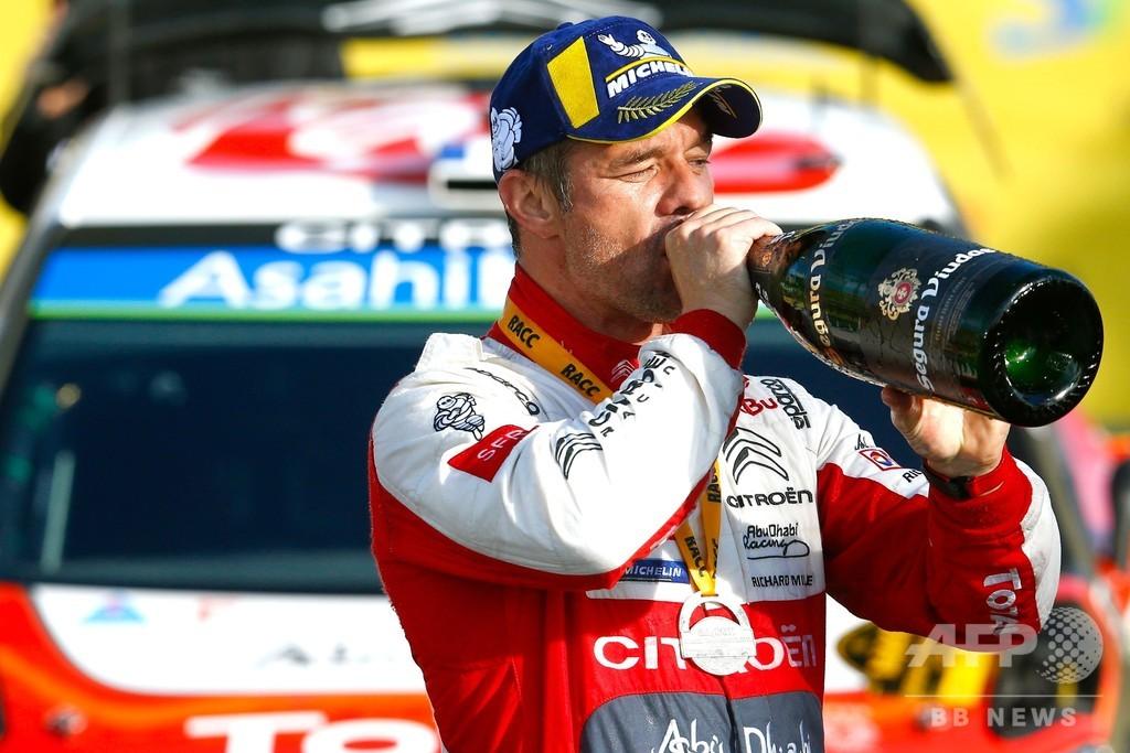 ローブが5年ぶりの優勝、オジェは総合首位浮上 ラリー・スペイン