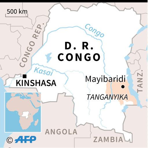 コンゴで列車脱線、100人死亡の情報 不正乗車客が犠牲に