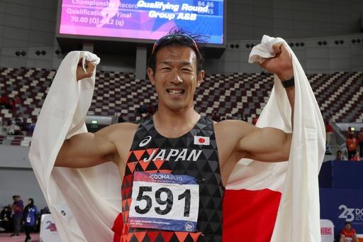 右代が十種競技で金メダル、中村は銅 陸上アジア選手権