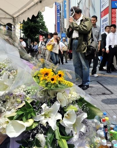 加藤被告に死刑判決、秋葉原無差別殺傷事件