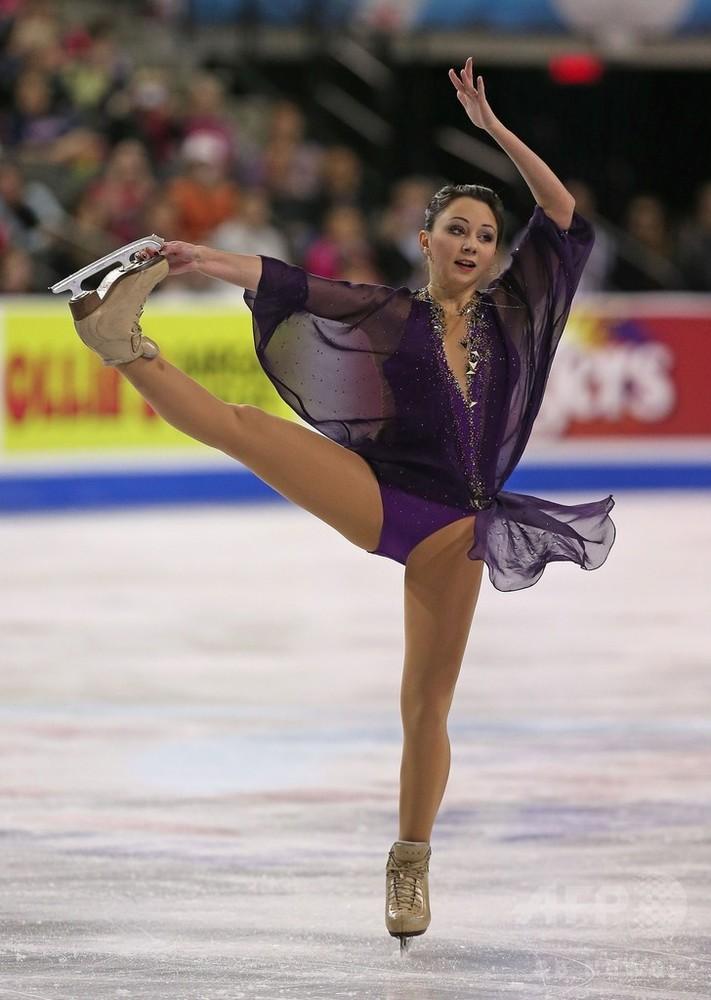 国際ニュース:AFPBB Newsラディオノワが女子シングル逆転優勝、スケート・アメリカ
