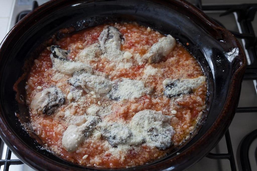 <La Cuillère de marie claire style>第24回 牡蠣の焼きトマトリゾット