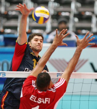 スペイン エジプトをストレートで降し2勝目を挙げる