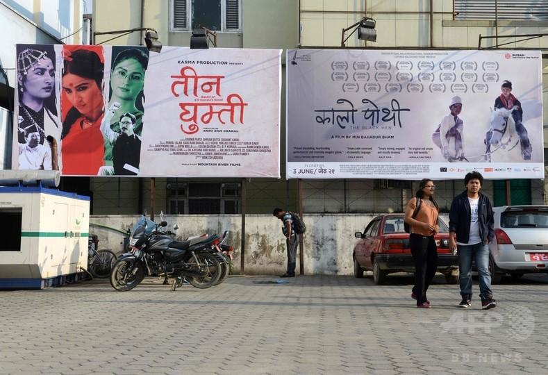 台頭するネパール映画、インド・ボリウッドに挑む