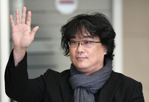 アカデミー賞受賞の『パラサイト』監督、韓国に凱旋