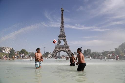 6月のフランス史上最高気温は「46度」、当局が記録を上方修正
