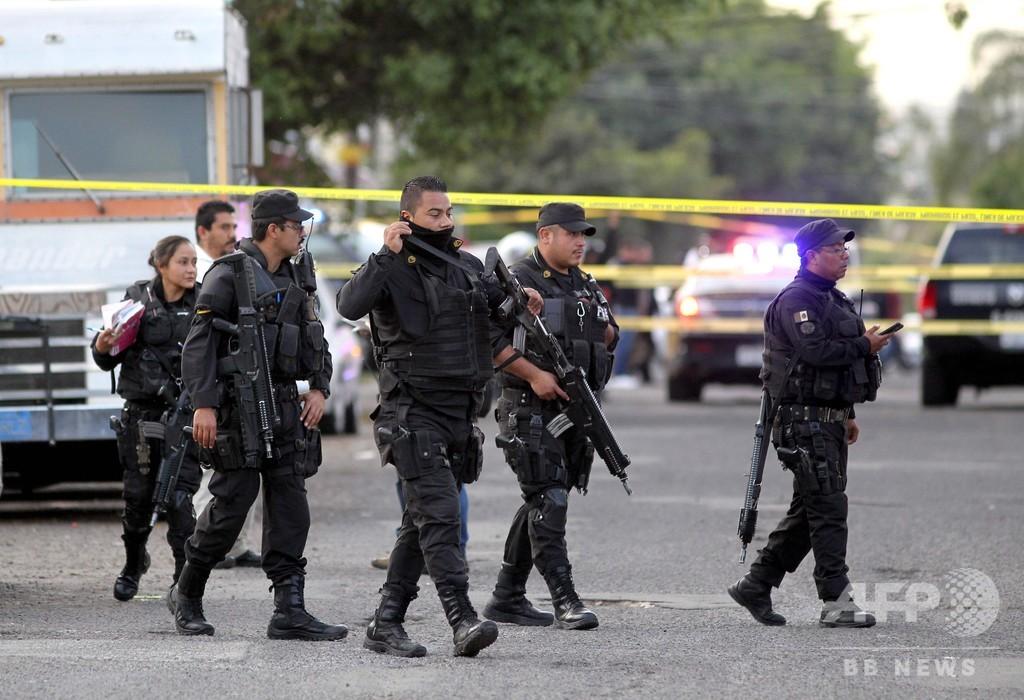 メキシコ、18年の殺人事件 3万3341件 過去最多