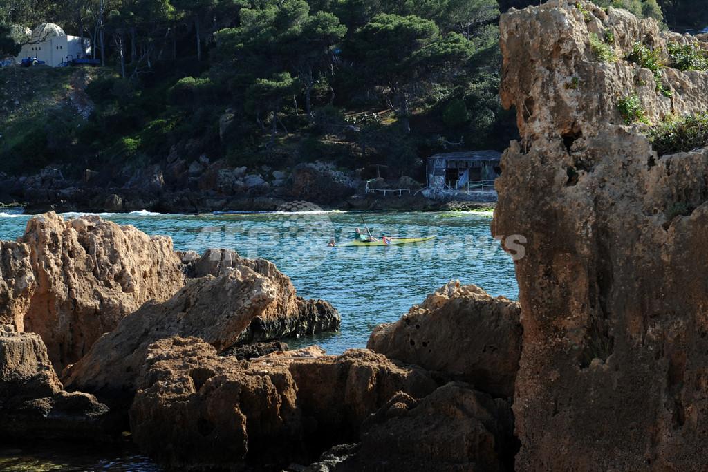 休暇を楽しむ人々、アルジェリア