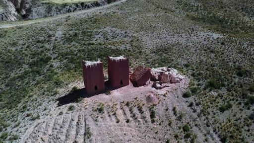 動画:インカ帝国以前の墳墓8基、神秘的な造形に数々の伝説 ボリビア