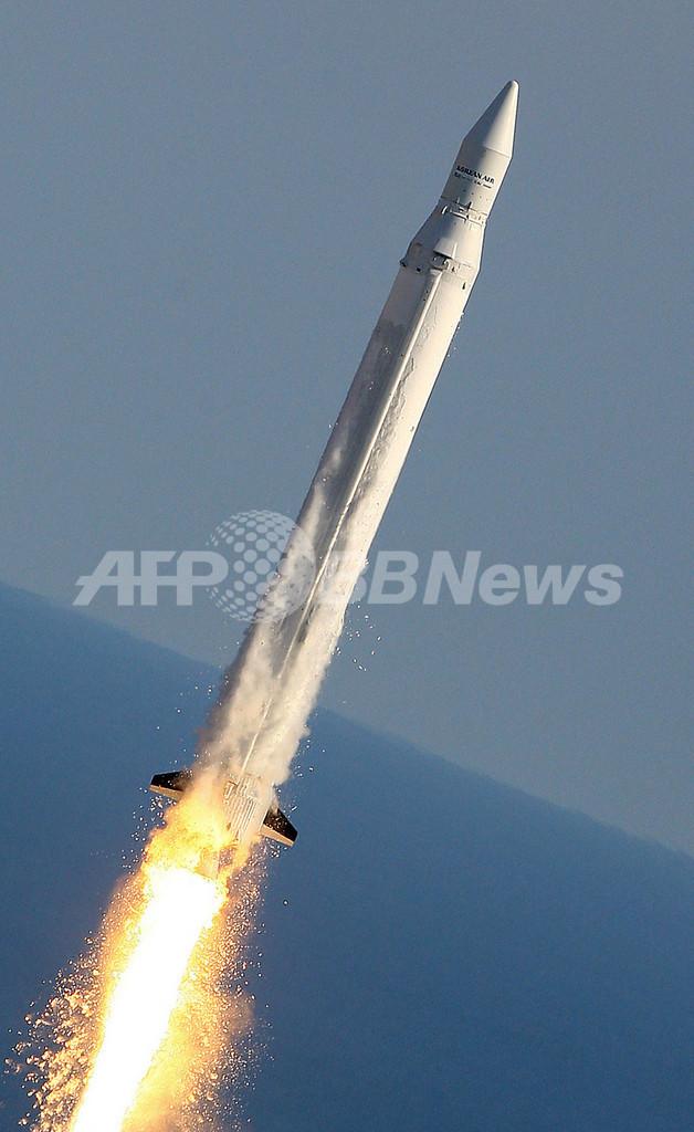 韓国初の人工衛星、軌道投入失敗後に大気圏突入で消滅か