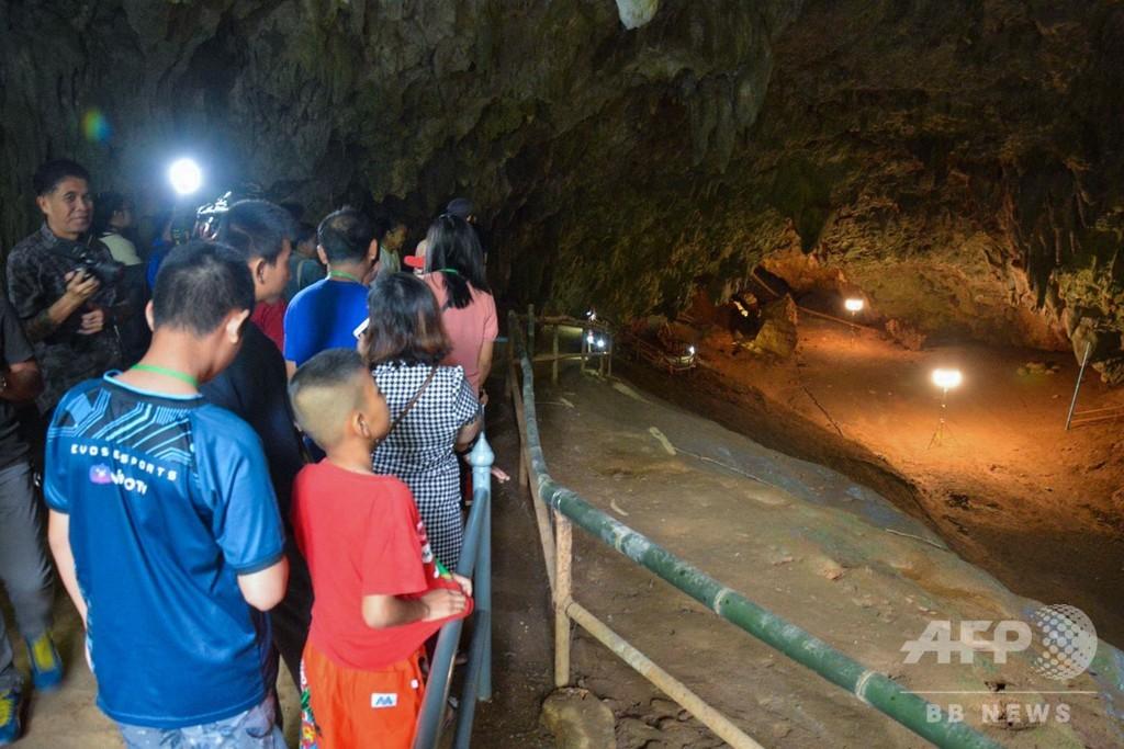 タイの少年らが救出された洞窟、一般公開を再開