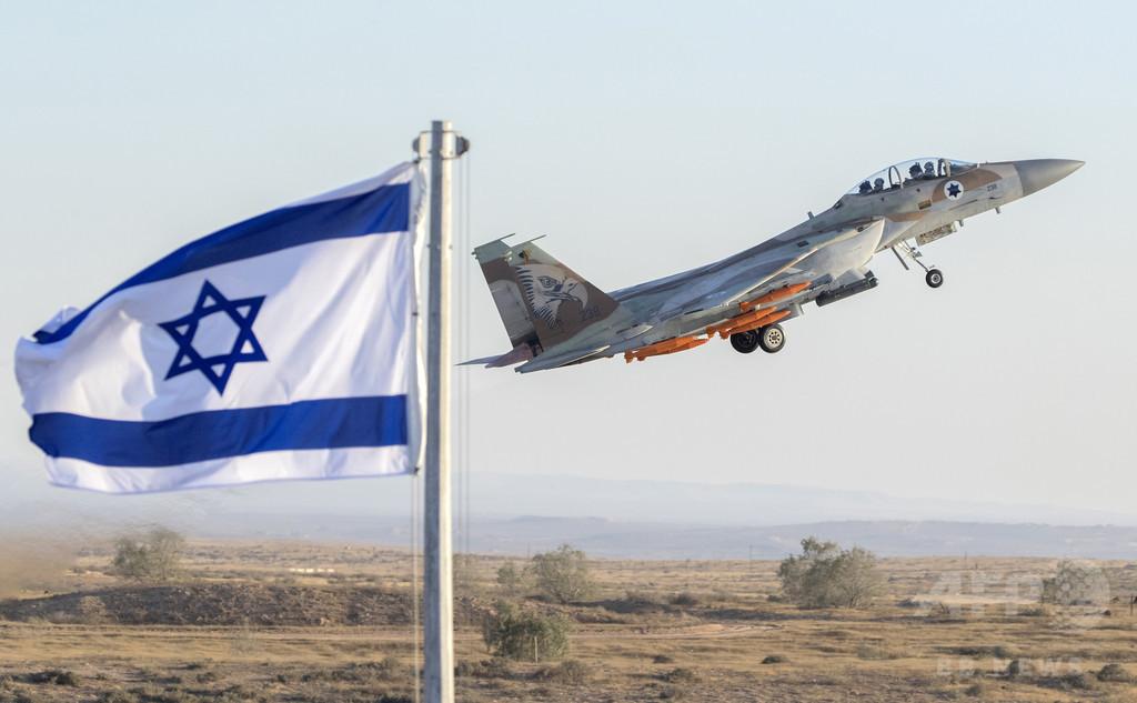 イスラエル、シリアの化学兵器製造拠点を空爆か