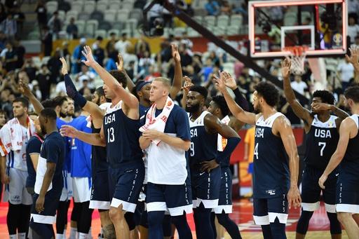 3連覇目指す米国がチェコ下し白星発進、バスケW杯