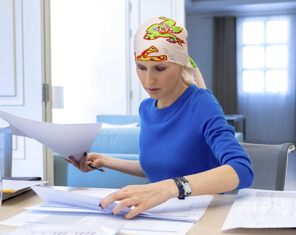 シリア大統領夫人、早期乳がんの手術「成功」