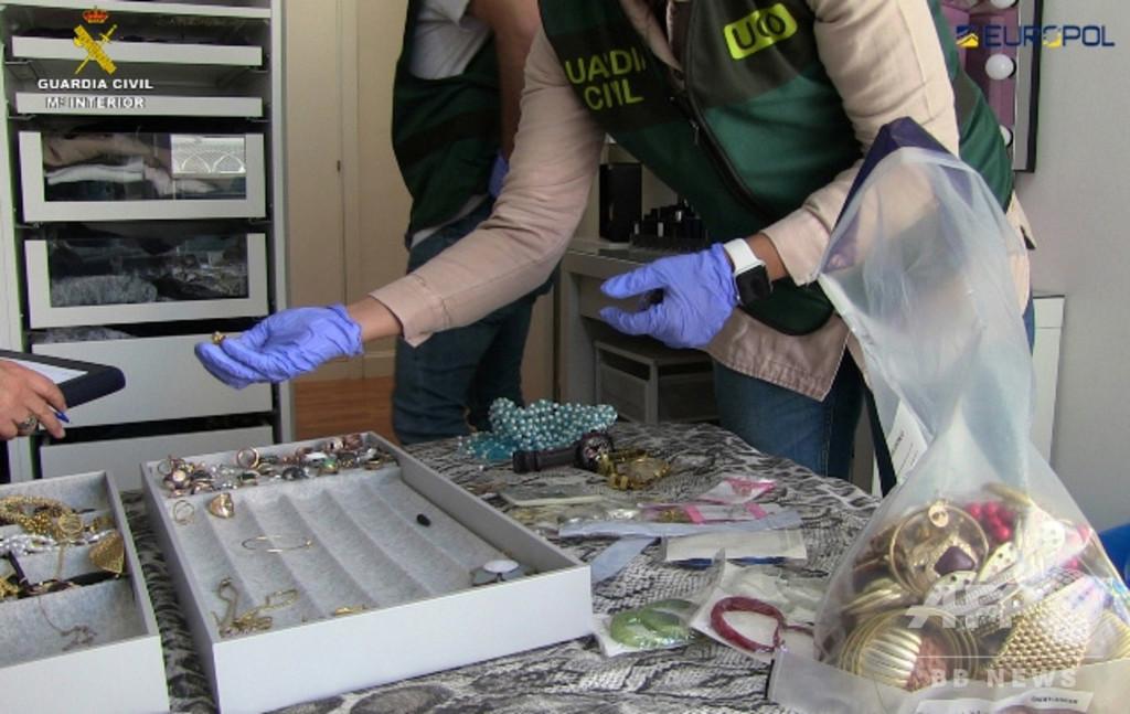 レアル選手らを標的とした窃盗グループを逮捕、スペイン警察