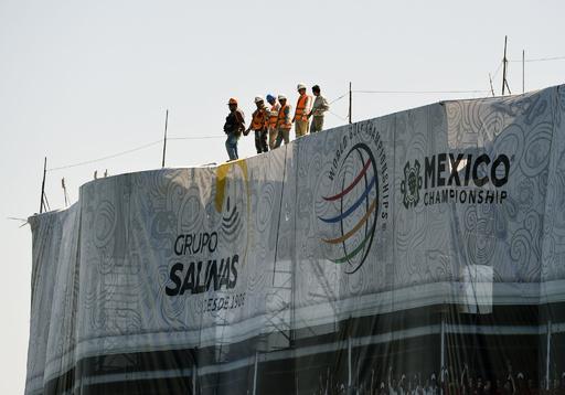 マキロイが1打差で首位発進、メキシコ選手権