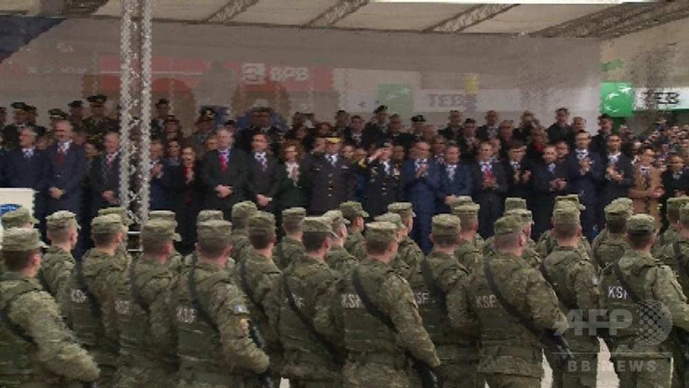 動画:コソボ、独立宣言から10年...