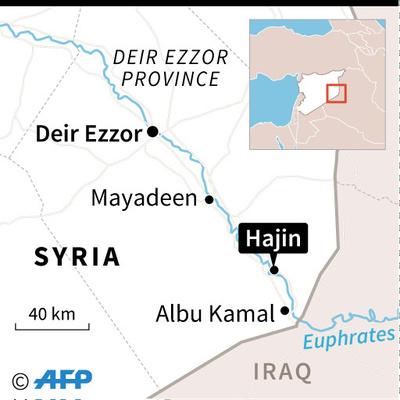 シリア東部でISが猛攻、クルド民兵92人死亡 双方の死者200人超に
