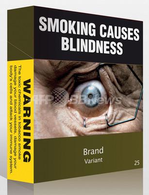 たばこパッケージ規制厳格化、豪政府が法案提出