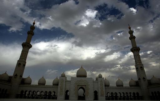 アブダビの名所、シェイク・ザイド・モスク