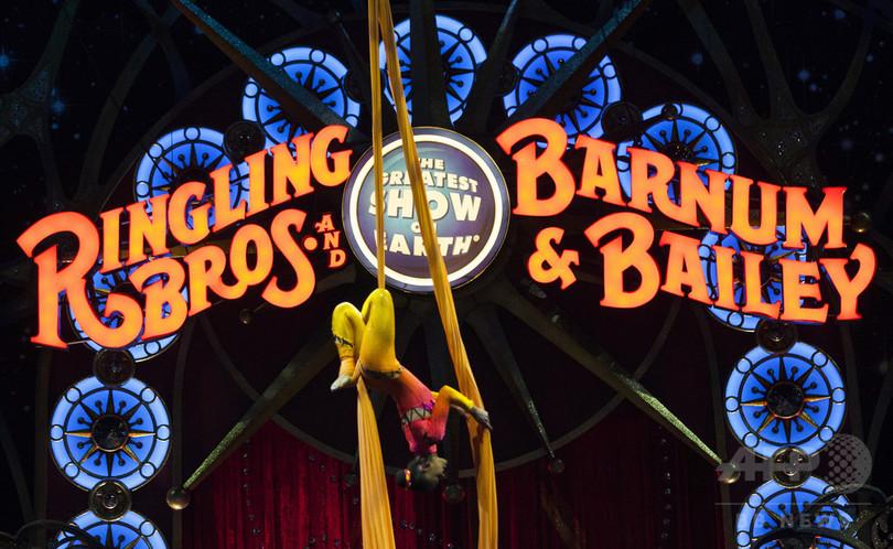米「リングリング」サーカスが約150年の歴史に幕、ゾウのショー中止が痛手