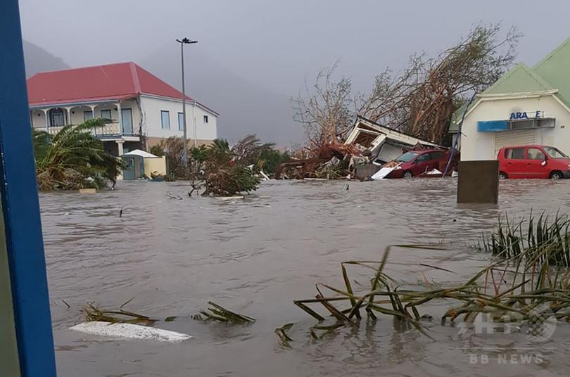 怪物ハリケーン、カリブ海諸島を直撃 少なくとも6人死亡