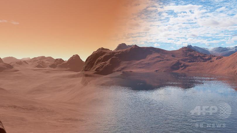 火星の消失した水、岩石内に存在の可能性 国際研究