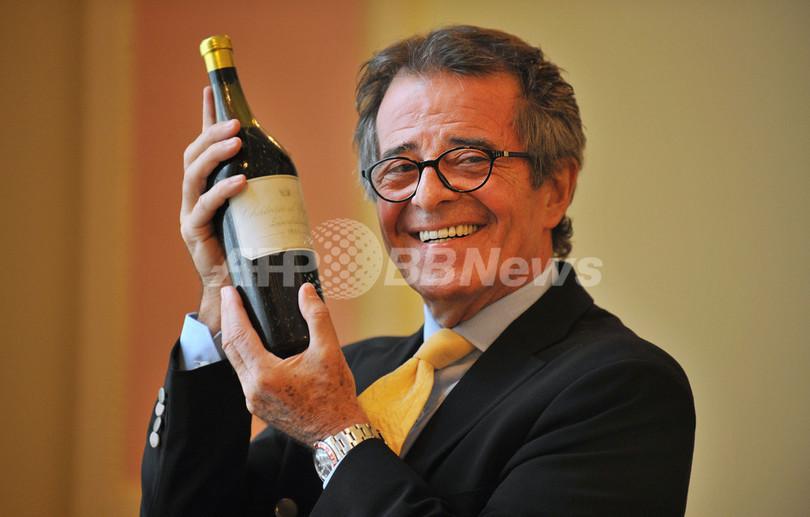 200年前の白ワインに史上最高値、英国