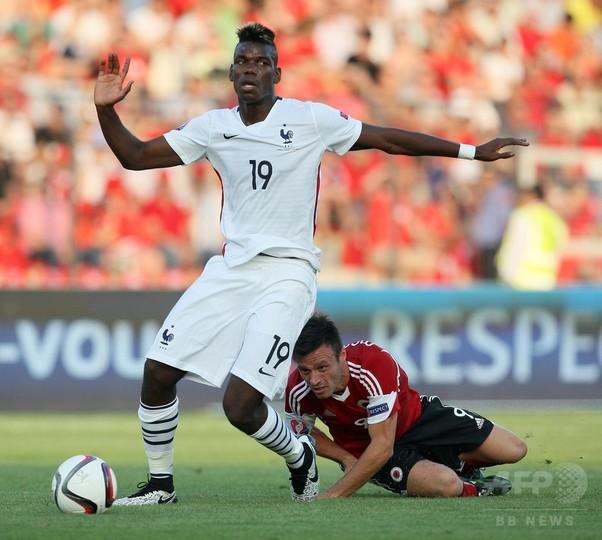 フランス、アルバニアに敗れ親善試合2連敗