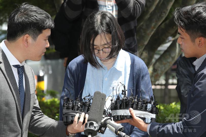 「ナッツ姫」が出頭、外国人を違法雇用した疑いで取り調べ 韓国