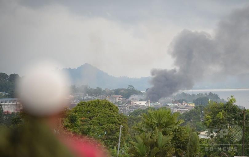 フィリピン南部で市街戦のIS系武装勢力に複数の外国人戦闘員