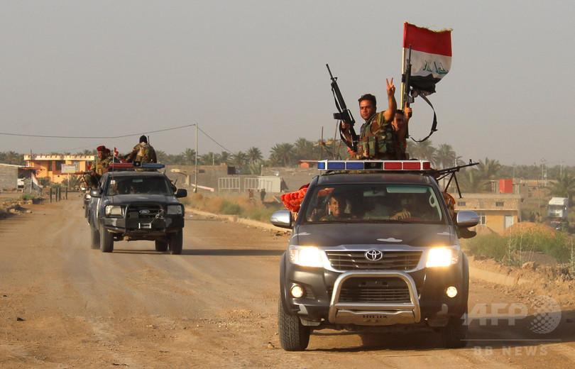 IS支配地域、イラクでほぼ半減 米国防総省