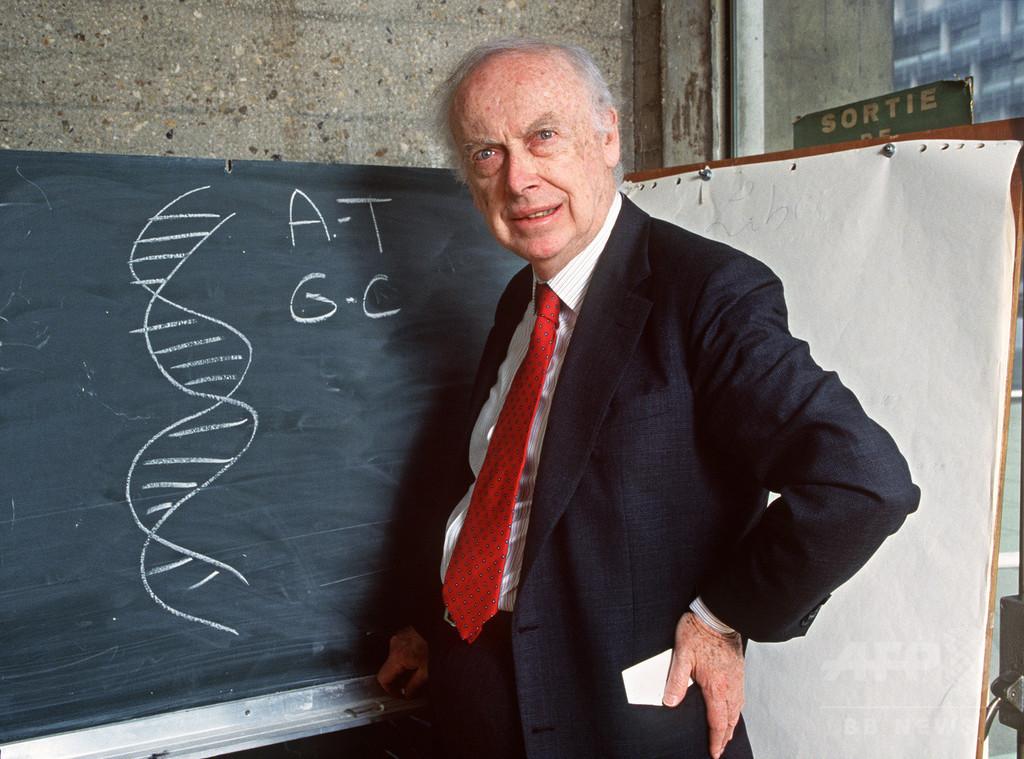 DNA構造解明の米科学者、ノーベル賞メダルを5.7億円で売却