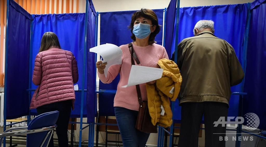 ロシアで統一地方選、ナワリヌイ氏毒殺未遂の影響あるか