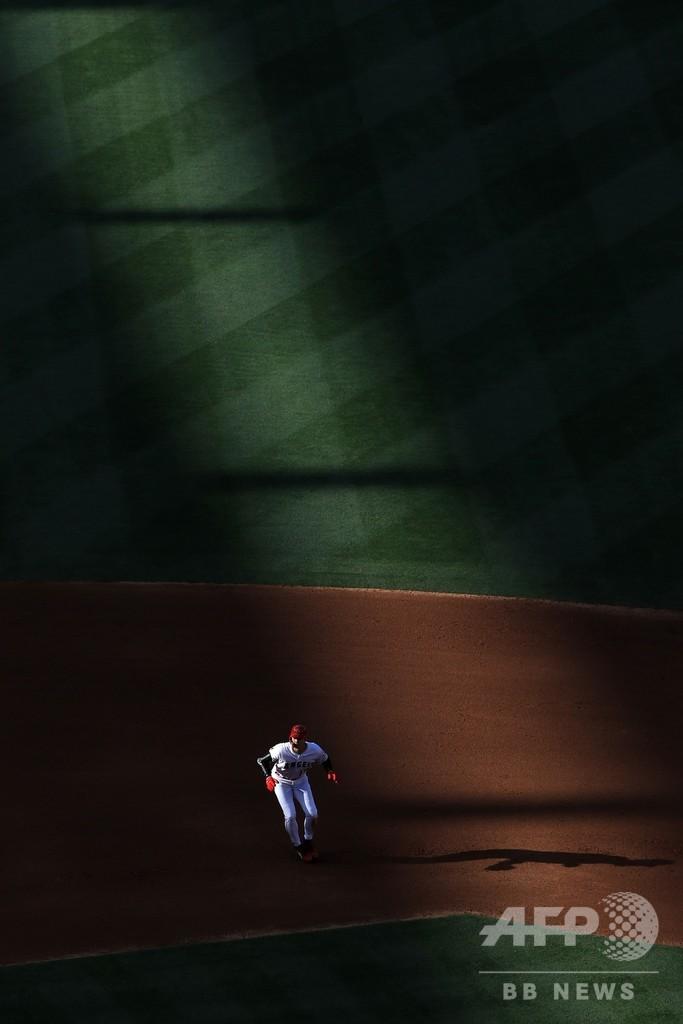 大谷が久々の投球練習、今季登板は「ノーチャンス」と指揮官