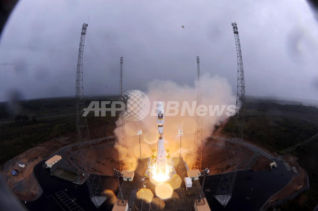 露のソユーズロケット、「ガリレオ」用衛星の軌道投入に成功