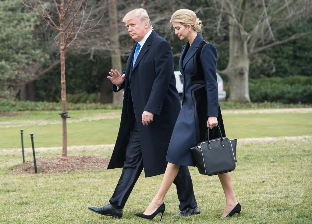 トランプ大統領、百貨店を非難 娘のブランド販売中止で