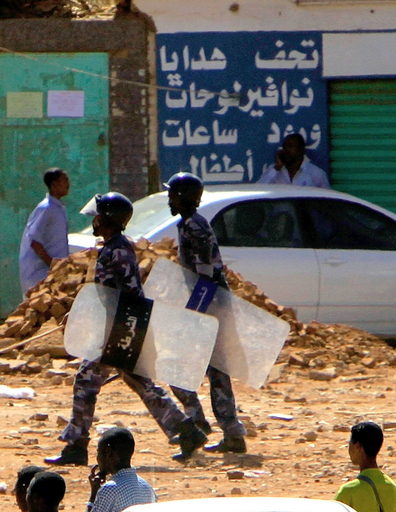 スーダン北部、各地で学生デモ 治安部隊と衝突