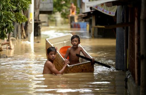 温暖化による「水没難民」は2億8000万人に、名古屋・大阪の一部も 研究