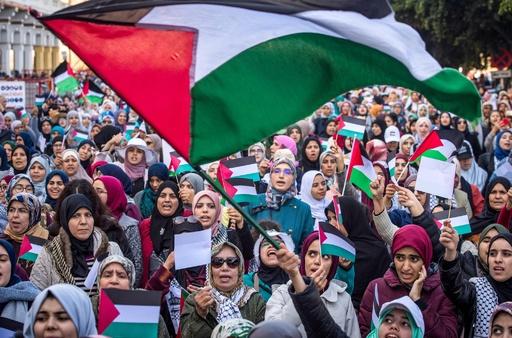トランプ氏の中東和平案は違法、アフリカ連合 パレスチナに連帯表明