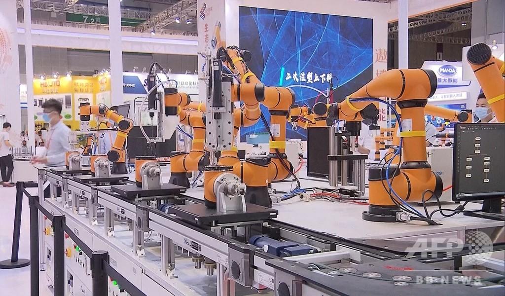 中国 最速成長の産業用ロボット市場に