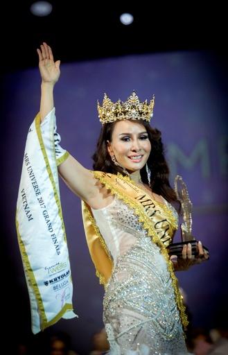 25~45歳限定の「ミセス・ユニバース」世界大会、優勝はベトナム代表