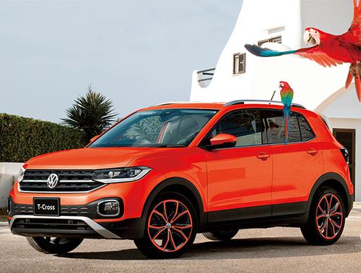 オシャレ系SUVに新顔! VWの末っ子SUV、T-クロスが日本に上陸