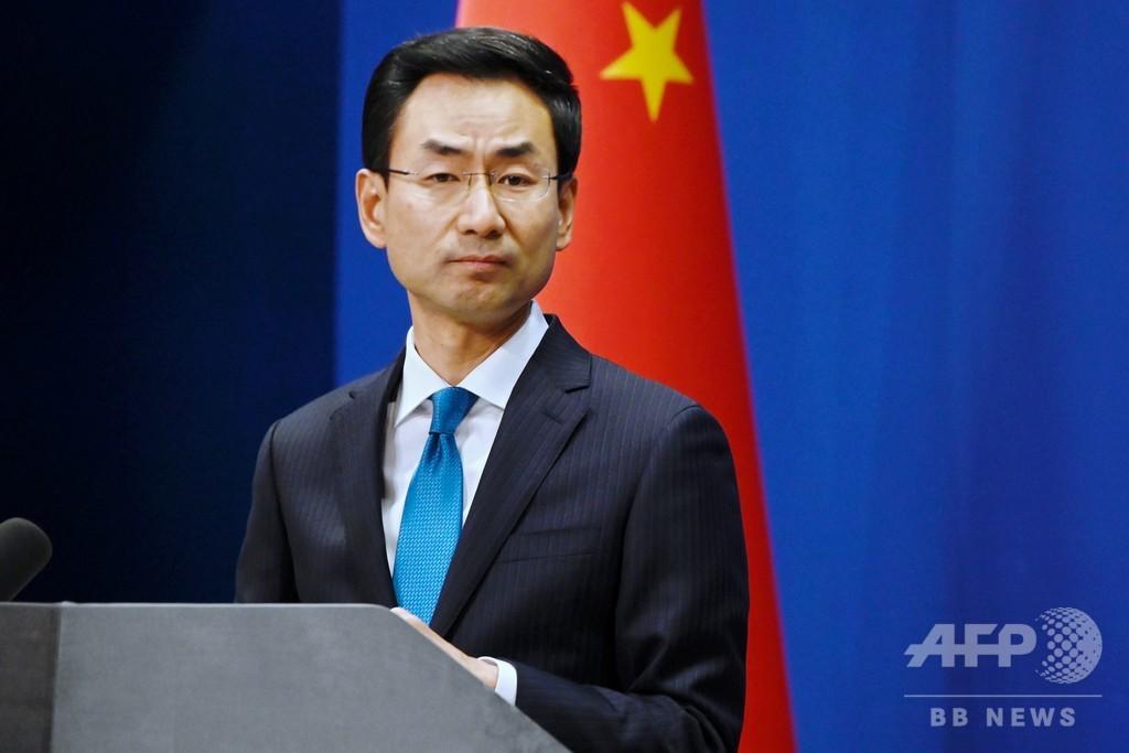 トランプ氏の「中国ウイルス」発言、中国が「強く憤慨」と反発