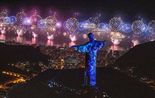 【写真特集】世界中でハッピーニューイヤー!AFPがとらえた新年の幕開け