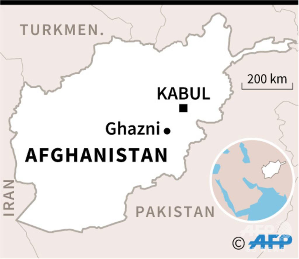 アフガニスタン東部で航空機墜落 当局発表