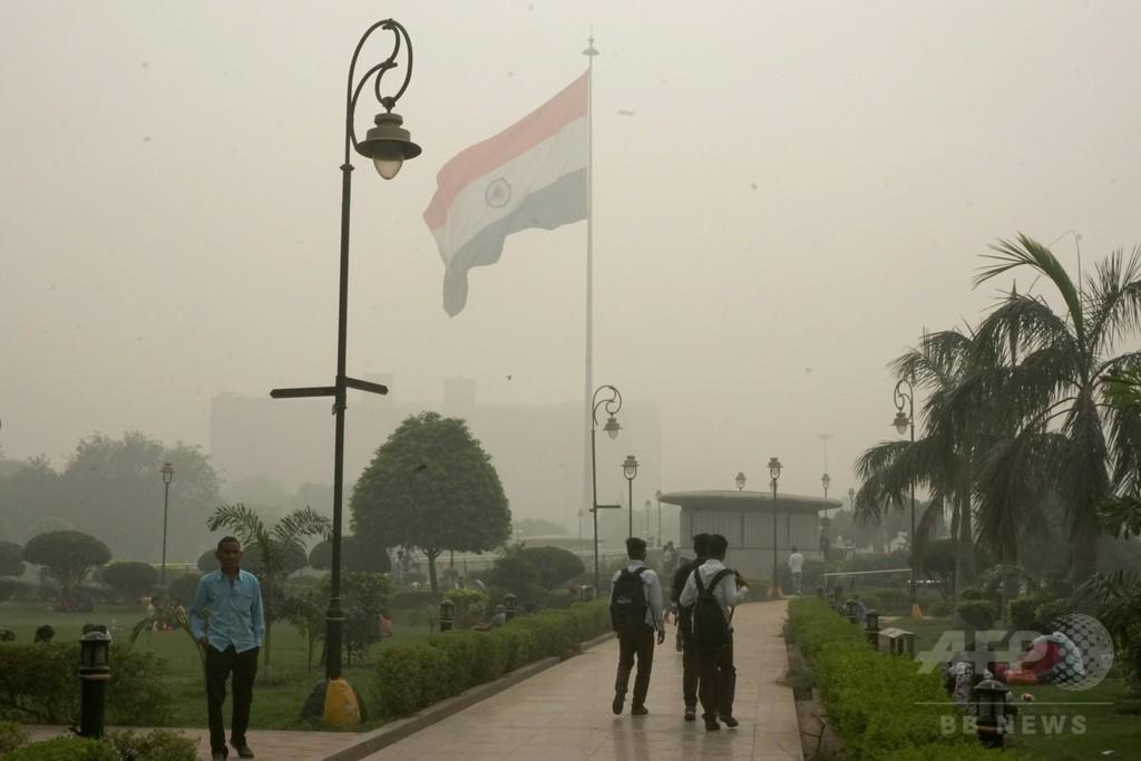 「まるでガス室」インド・デリー首都圏の大気汚染