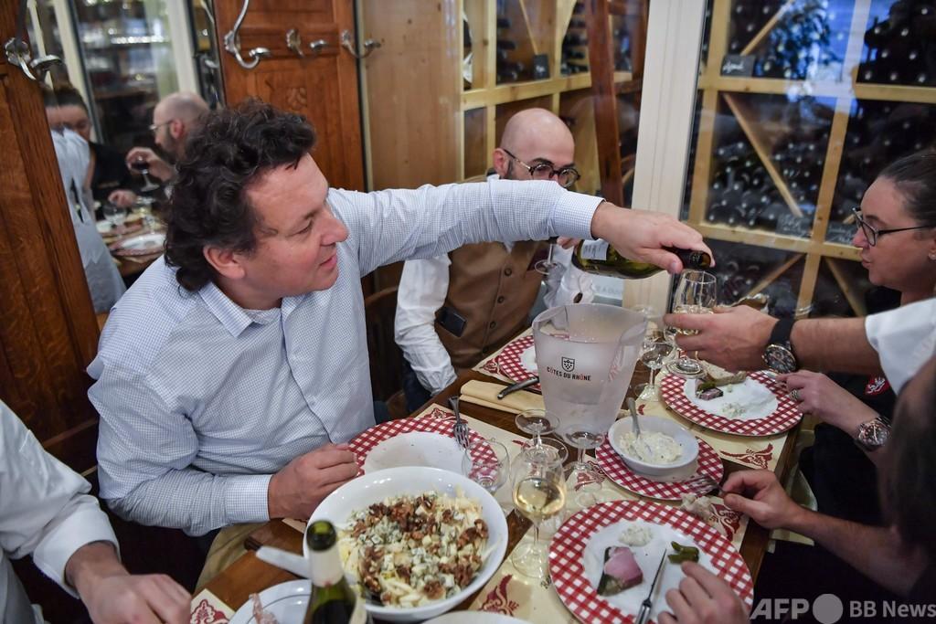 モーニングワインでコロナうつ撃退? 美食の街仏リヨン飲食店の古くて新しい戦略